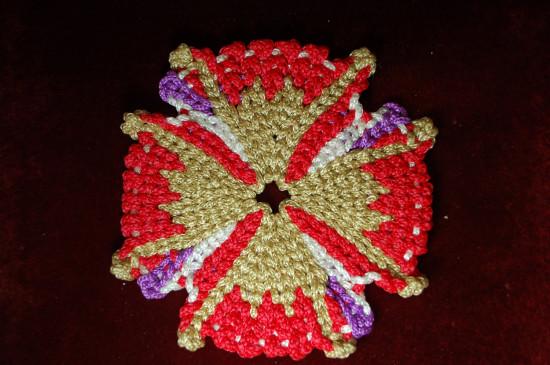 Серветка плетена